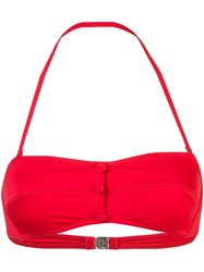 Morgan Lane Charmie Bikini Top Red