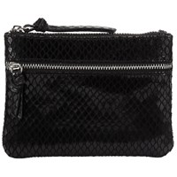 John Lewis Harriet Leather Coin Purse Black