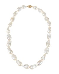 Belpearl 14K Statement Baroque Pearl Necklace