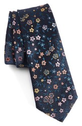 Paul Smith Men's Floral Jacquard Silk Tie