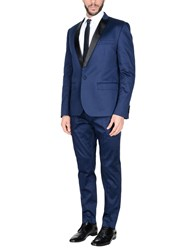 Daniele Alessandrini Suits Blue