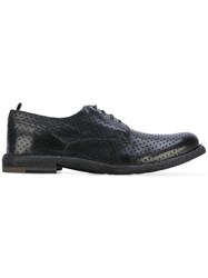 Officine Creative Ideal Derby Shoes Men Leather 44 Black