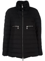 Moncler Gamme Rouge High Neck Puffer Jacket Black