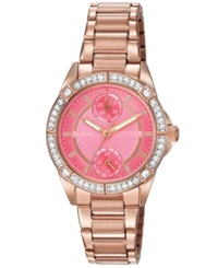 Citizen Women's Drive From Citizen Eco Drive Rose Gold Tone Stainless Steel Bracelet Watch 33Mm Fd3003 58X