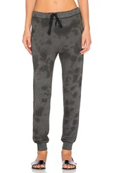 Current Elliott The Zipster Unfinished Edge Sweatpant Gray