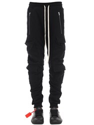 Represent Lvr Exclusive Cotton Military Sweatpants Black