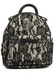 Philipp Plein Mini Lace Backpack Black