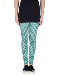 Marzia Genesi Sea Trousers Leggings Women Deep Jade