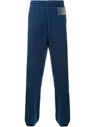 Gosha Rubchinskiy Gathered Ankle Track Pants Blue