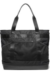 Nikelab Leather And Mesh Trimmed Shell Tote Black