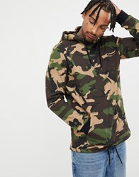 Your Turn Yourturn Hoodie In Camo Green