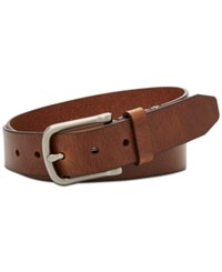 Fossil Men's Alex Leather Belt Brown