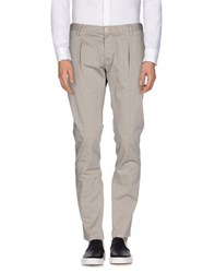 Hamaki Ho Trousers Casual Trousers Men Light Grey