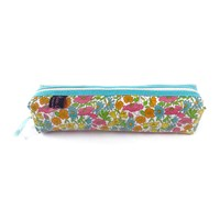 Liberty London Box Pencil Case Poppy And Daisy Yellow