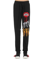 Haculla Wanted Printed Sweatpants Black