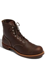 Red Wing Shoes Men's 'Iron Ranger' 6 Inch Boot Amber Harness Leather