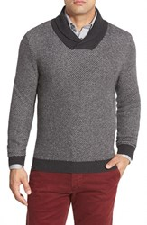 Men's Big And Tall Nordstrom Regular Fit Shawl Collar Sweater