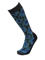 Gm Snake Printed Winter Sports Tall Socks