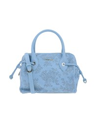 Twin Set Simona Barbieri Handbags Sky Blue