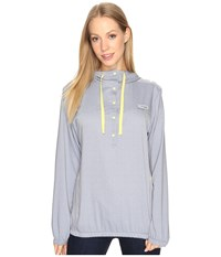 Columbia Tamiami Hoodie Carbon Heather Sunlit Women's Sweatshirt Gray