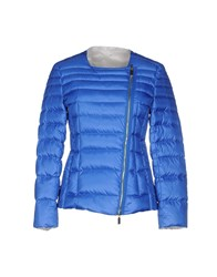 Schumacher Coats And Jackets Down Jackets Women Bright Blue