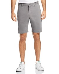 Bloomingdale's The Men's Store At Twill Regular Fit Shorts 100 Exclusive Gray