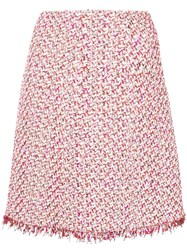 Giambattista Valli Tweed Skirt Pink