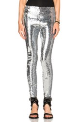 Isabel Marant Izard Glitter Leggings In Metallics