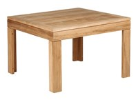 Barlow Tyrie Linear Square Side Table