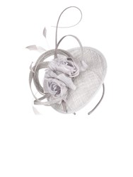 Jacques Vert Double Flower Fascinator