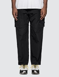 Thisisneverthat Two Way Nylon Cargo Pants Black