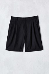 Shades Of Grey By Micah Cohen Pleated Short Black