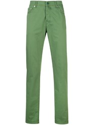 Kiton Straight Leg Trousers 60