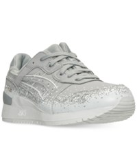Asics Tiger Men's Gel Lyte Iii Casual Sneakers From Finish Line Light Grey White