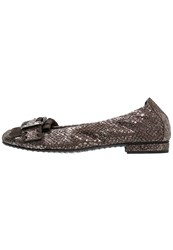 Kennel Schmenger Malu Ballet Pumps Moro Grey