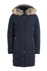 Parajumpers Light Long Bear Down Parka With Fur Trimmed Hood Gr. S