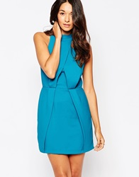 Finders Keepers Slow Goodbye Dress Teal