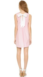 Cynthia Rowley Tie Back Trapeze Dress Pink