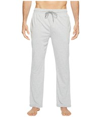 Kenneth Cole Reaction Jersey Pants Light Heather Grey Men's Pajama Silver