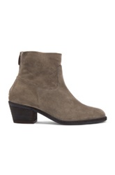Elysewalker Los Angeles Lauren Sport Suede Boots In Gray