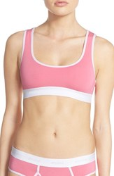 Women's Honeydew Intimates 'Charlie' Racerback Softcup Bra Neon Beach
