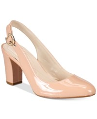 Alfani Women's Laylaa Slingback Pumps Only At Macy's Women's Shoes Pink Blush