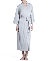 Natori Zen Long Jersey Wrap Robe