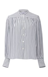 Frame Denim Chloe Striped Blouse