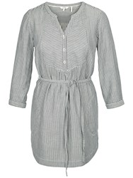 Fat Face Jo Gingham Longline Tunic Ivory