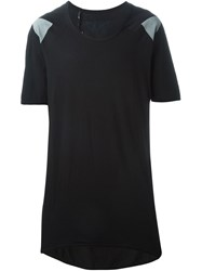 11 By Boris Bidjan Saberi Printed Oversized T Shirt Black