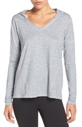 Zella Women's 'To And Fro' Hooded Pullover Tee