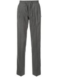 Corneliani Drawstring Trousers Grey