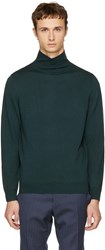 A.P.C. Green Dundee Turtleneck