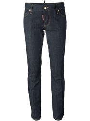Dsquared2 Flare Jeans Blue